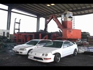 Утилизация автомобилей в Америке