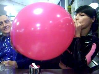 воздушные шарики в фетише-хя2