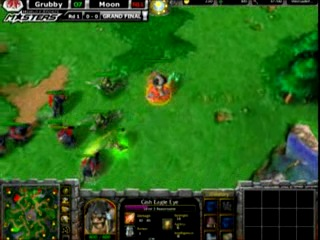 Warcraft 3 TFT: Grubby (Orc) vs Moon (NE) WEM 09