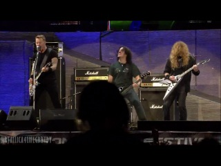 The Big 4 - | Metallica | Megadeth | Anthrax | Slayer | - Am I Evil? - (Live in Sofia, Bulgaria, 2010)