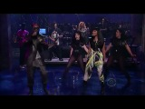 Nicki Minaj feat. Will.I.Am - 'Check It Out' (Late Show with David Letterman)
