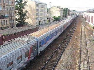 Чс7 с поездом Питер-Владикавказ! 121 поезд