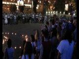 Москва. Акция памяти Майкла Джексона 25 июня 2010 г. К/т