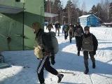 Прыжки курсантов ВПСМ в Кирове 26.02.11 ПОгрузка на борт