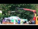 Авария на Формуле-1 в Москве 2010