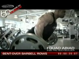 MuscleTech 60 Seconds on Muscle Fouad Abiad - Bent-Over Barbell Rows