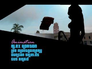 Заставка з GTA Vice City
