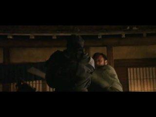 Последний Самурай - нападение ниндзя.