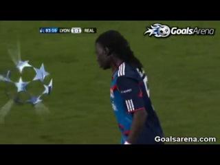 Лион - Реал Мадрид. Гол (1:1) Батефимби Гомес