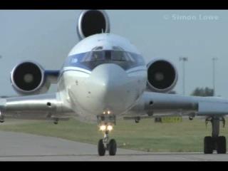 Любителям самолёта Ту-154 Взлет и посадка.