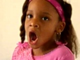 Kayla age 4 singing Mary J  Blige can be without you