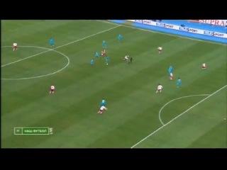 Гол А. Кержакова в матче Зенит Амкар (1-0)