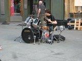 Уличные музыканты, eh?