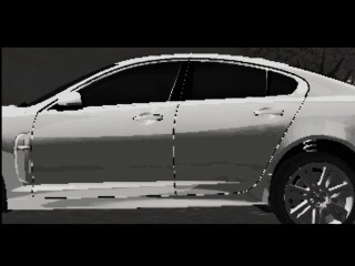 Jaguar XF-R реклама (мультфтльм)