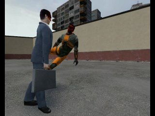 Gman vs Gordon Freeman
