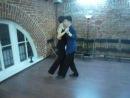 Учебный танец Влад и Юля