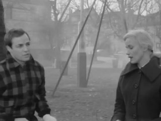 Terry and Edie's scene in On the Waterfront, 1954