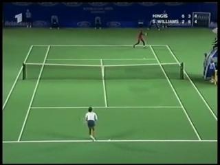 Мартина Хингис - Серена Уильямс. Полуфинал AO 2001.