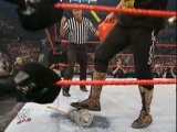 Randy Orton vs Cactus Jack (Backlash 2004 Hardcore match,WWE Intercontinental Championship)