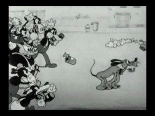 1932 - Mickey Mouse, Pluto - The Mad Dog