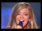 Каролина Коста в финале шоу