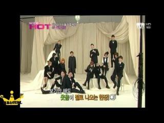 [26.11.10] Big Bang - CJ CF Filming @ Mnet Wide HOT [making]