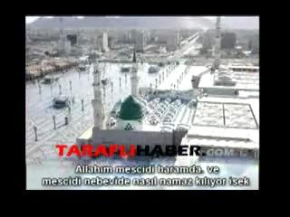 kabe imamlarından filistin için dua