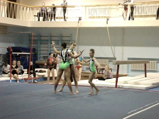 Спортивная акробатика. Томская тройка.