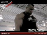 MuscleTech 60 Seconds on Muscle Fouad Abiad- Shrugs