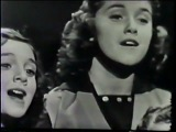 The Lennon Sisters (The Lawrence Welk Show) - Serenade Of The Bells (1956)