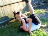 Skinny Girl Beats up Fat Boy 2