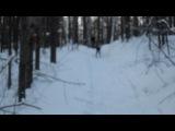 ахах, это я упала. Мне нельзя на лыжи вставать*))