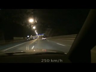 Гонки по городу на 2.40 закись азота от ниссан GTR скорость самая быстрая машина автокар