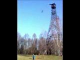 Мой прыжок с 30-ти метровой вышки!