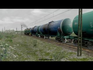 Тепловоз ТЭМ2 в RailWorks