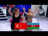 Azeri Kizi Gunel - Азербайджан и Турция!
