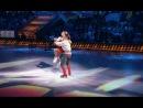 Мария Кожевникова и Алексей Ягудин в шоу Лед и пламень. Выпуск №3 на льду-народный танец