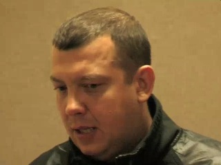 Сергей Бобунец-интервью на фестивале