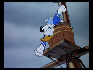 1938 - Mickey Mouse, Donald Duck, Goofy - The Whalers