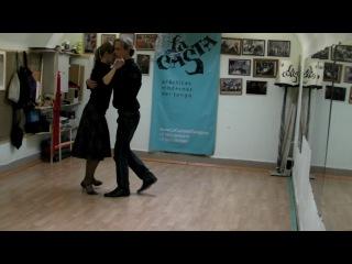 Практика танго... и небольшая реклама La Casta :)