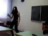 Блек метал в школе