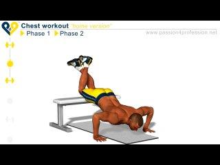 Chest Workout Level 1 ( Тренеровка мышц груди. Уровень 1 ) Фитоняшки*бикини, бикинистки, бикини, фитнес, fitnes, бодифитнес, фитнесс, silatela, Do4a, и, бодибилдинг, пауэрлифтинг, качалка, тренировки, трени, тренинг, упражнения, по, фитнесу, бодибилдингу, накачать, качать, прокачать, сушка, массу, набрать, на, скинуть, как, подсушить, тело, сила, тела, силатела, sila, tela, упражнение, для, ягодиц, рук, ног, пресса, трицепса, бицепса, крыльев, трапеций, предплечий,ЗОЖ СПОРТ МОТИВАЦИЯ http://vk.com/zoj.sport