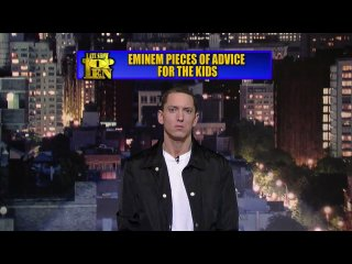 Late Show - Eminem's Top 10 Pieces of Advice for The Kids