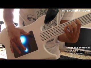 Гитара с тачскрином и открытым исходным кодом