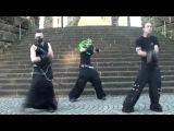 Кибер готы Industrial Dance @ Kaiser Wilhelm Denkmal