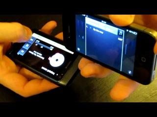 Nokia N8 против Iphone 4 битва Музыкальный плеер