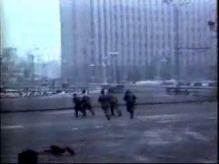 Чечня Грозный сьемка войск Дудаева 1995 - Чеченская война
