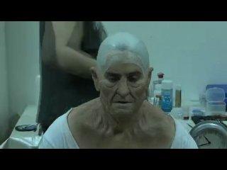 Джареда Лето гримируют для роли старика-Немо в