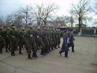 Присяга Центр КВВУ им. Штеменко 4 января 2011года