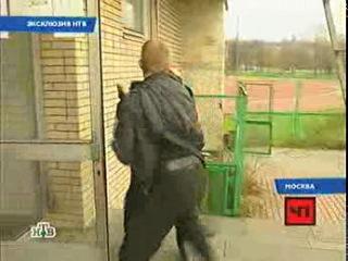 Драка ФМС и ЧОП !!!! Лужники, Москва.2008 год.